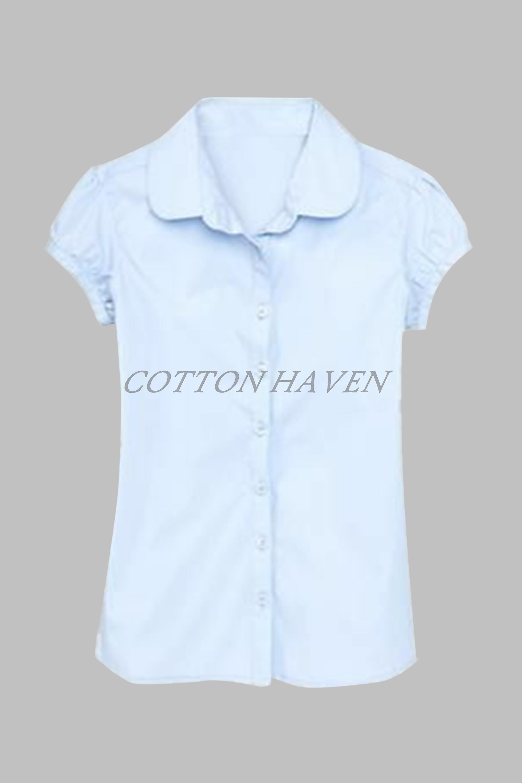 90b904c5e 100% Organic Cotton Girls School Uniform Dress - CHORG 205 - Cotton ...